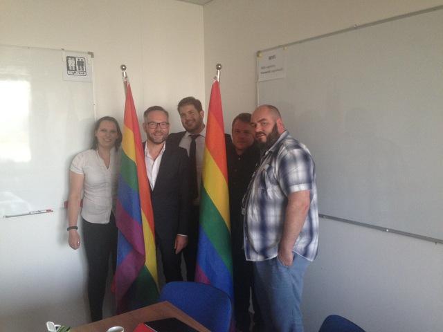 Državni minister za Evropo v nemškem zunanjem ministrstvu in poslanec nemškega zveznega parlamenta Michael Roth se je sestal s predstavniki DIC Legebitre