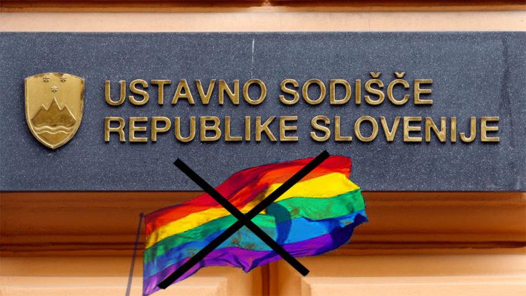 Današnja odločitev Ustavnega sodišča nadaljuje tradicijo diskriminacije istospolno usmerjenih