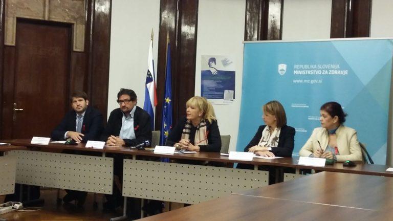 """Novinarska konferenca ob """"Evropskem tednu testiranja na virus HIV in hepatitisa B/C"""""""