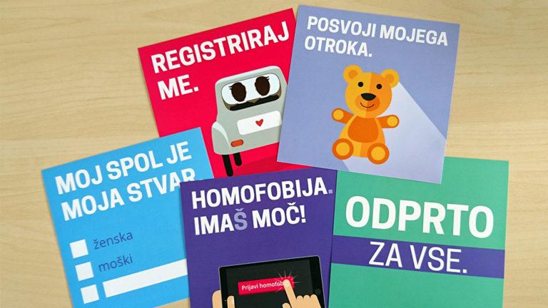 Odpravljanje sistemske diskriminacije LGBT-oseb v Sloveniji