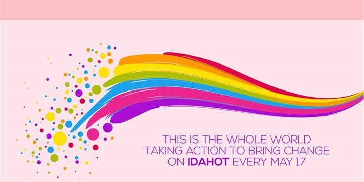 Ob mednarodnnem dnevu boja proti homofobiji, transfobiji in bifobiji