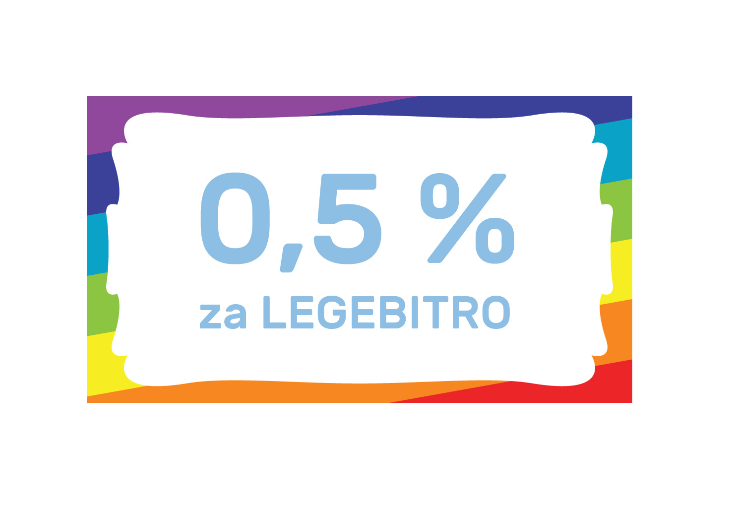 Nameni nam 0,5 % dohodnine