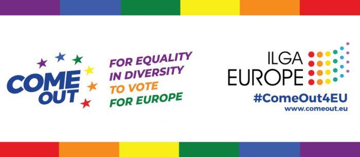 #ComeOut4EU – En mesec do volitev v Evropski parlament