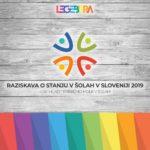 Raziskava o stanju v šolah v Sloveniji 2019: LGBT mladi – Prebijmo molk v šolah!