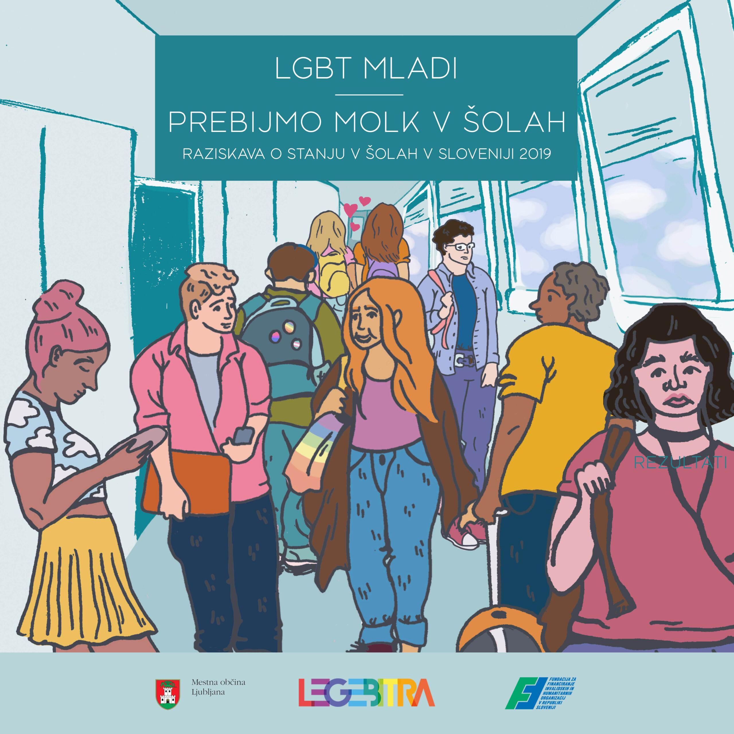 Ob izidu končnega poročila o rezultatih raziskave o stanju v šolah 2019: LGBT mladi – Prebijmo molk v šolah